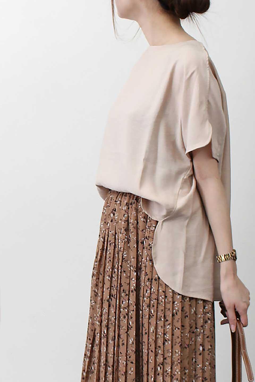 WrapSleeveBlouseラップスリーブ・ブラウス大人カジュアルに最適な海外ファッションのothers(その他インポートアイテム)のトップスやシャツ・ブラウス。ゆったりデザインのラップスリーブスリーブ。ドルマンタイプのシルエットで今風の着こなしが楽しめます。/main-18
