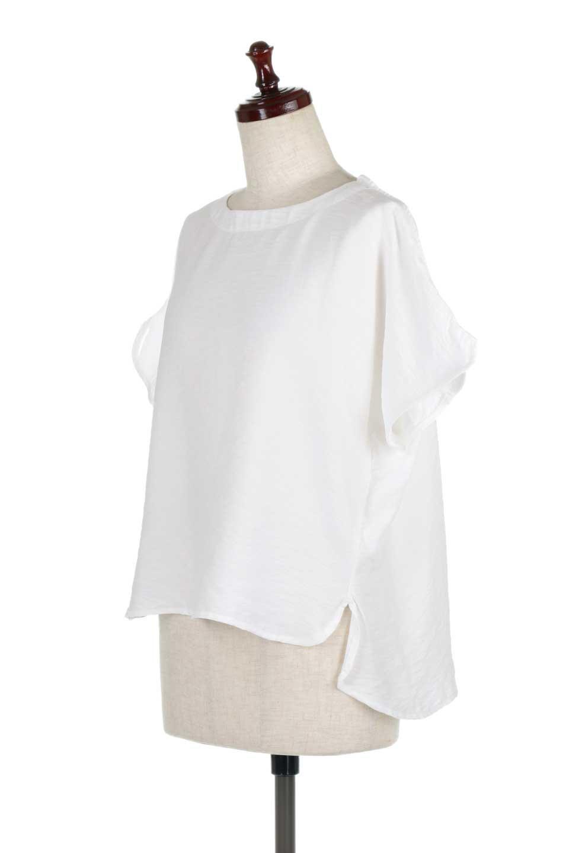 WrapSleeveBlouseラップスリーブ・ブラウス大人カジュアルに最適な海外ファッションのothers(その他インポートアイテム)のトップスやシャツ・ブラウス。ゆったりデザインのラップスリーブスリーブ。ドルマンタイプのシルエットで今風の着こなしが楽しめます。/main-6
