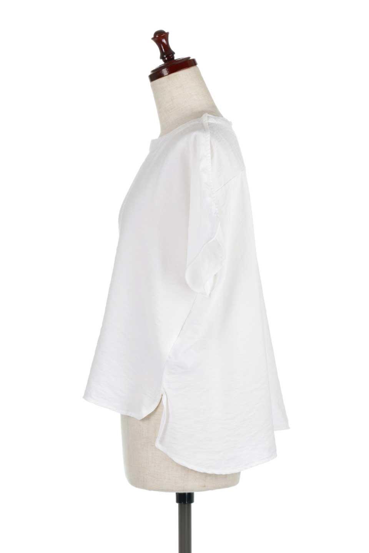 WrapSleeveBlouseラップスリーブ・ブラウス大人カジュアルに最適な海外ファッションのothers(その他インポートアイテム)のトップスやシャツ・ブラウス。ゆったりデザインのラップスリーブスリーブ。ドルマンタイプのシルエットで今風の着こなしが楽しめます。/main-7