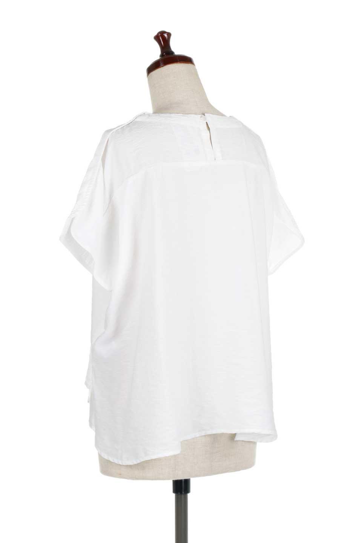 WrapSleeveBlouseラップスリーブ・ブラウス大人カジュアルに最適な海外ファッションのothers(その他インポートアイテム)のトップスやシャツ・ブラウス。ゆったりデザインのラップスリーブスリーブ。ドルマンタイプのシルエットで今風の着こなしが楽しめます。/main-8