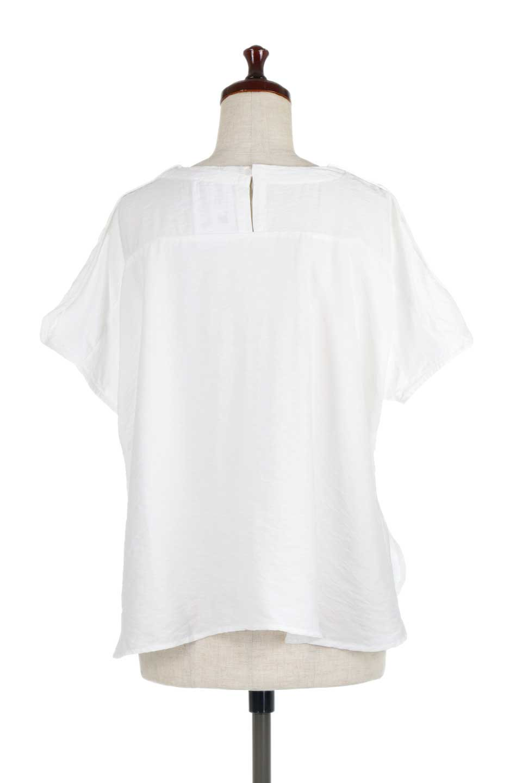 WrapSleeveBlouseラップスリーブ・ブラウス大人カジュアルに最適な海外ファッションのothers(その他インポートアイテム)のトップスやシャツ・ブラウス。ゆったりデザインのラップスリーブスリーブ。ドルマンタイプのシルエットで今風の着こなしが楽しめます。/main-9