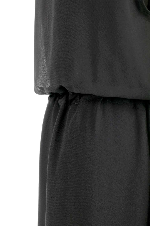 FrenchSleeveLayeredDressウエストドロスト・レイヤードワンピース大人カジュアルに最適な海外ファッションのothers(その他インポートアイテム)のワンピースやミディワンピース。ウエストで絞り具合を調節できるフレンチスリーブのワンピース。透け感のあるシフォン素材とカットソー素材の組み合わせで、上品なレイヤード感が楽しめるアイテムです。/main-11
