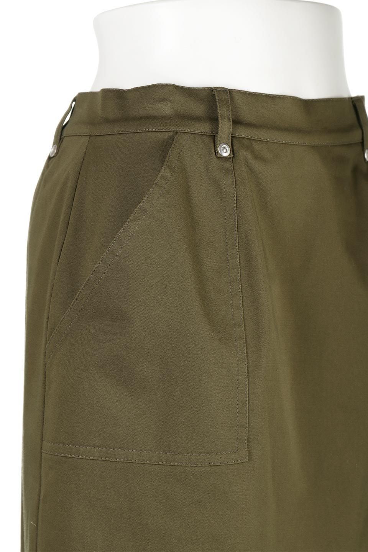 AsymmetricalPleatedCargoSkirtプリーツ&カーゴポケット・アシメントリースカート大人カジュアルに最適な海外ファッションのothers(その他インポートアイテム)のボトムやスカート。ミリタリーテイストをアレンジしたアシメントリーなデザインのロングスカート。ミリタリーやワーク風のハードな雰囲気と、膝下から伸びる丸みを帯びたカットから覗くフェミニンなプリーツの甘辛コンビネーション。/main-10