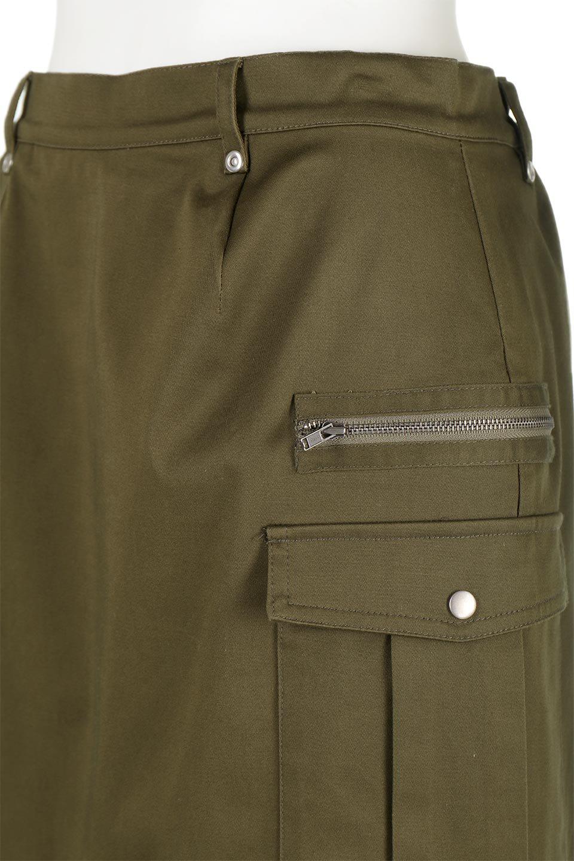 AsymmetricalPleatedCargoSkirtプリーツ&カーゴポケット・アシメントリースカート大人カジュアルに最適な海外ファッションのothers(その他インポートアイテム)のボトムやスカート。ミリタリーテイストをアレンジしたアシメントリーなデザインのロングスカート。ミリタリーやワーク風のハードな雰囲気と、膝下から伸びる丸みを帯びたカットから覗くフェミニンなプリーツの甘辛コンビネーション。/main-11