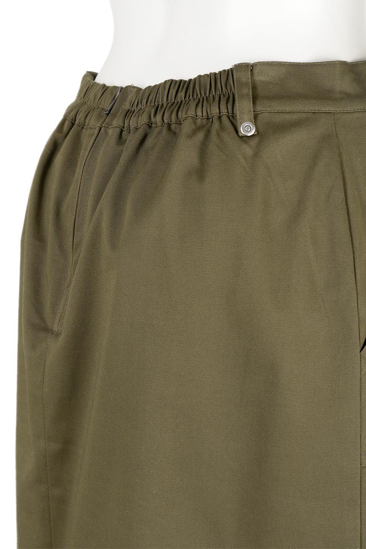 AsymmetricalPleatedCargoSkirtプリーツ&カーゴポケット・アシメントリースカート大人カジュアルに最適な海外ファッションのothers(その他インポートアイテム)のボトムやスカート。ミリタリーテイストをアレンジしたアシメントリーなデザインのロングスカート。ミリタリーやワーク風のハードな雰囲気と、膝下から伸びる丸みを帯びたカットから覗くフェミニンなプリーツの甘辛コンビネーション。/main-12