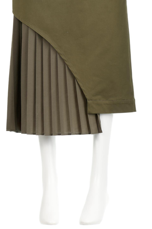 AsymmetricalPleatedCargoSkirtプリーツ&カーゴポケット・アシメントリースカート大人カジュアルに最適な海外ファッションのothers(その他インポートアイテム)のボトムやスカート。ミリタリーテイストをアレンジしたアシメントリーなデザインのロングスカート。ミリタリーやワーク風のハードな雰囲気と、膝下から伸びる丸みを帯びたカットから覗くフェミニンなプリーツの甘辛コンビネーション。/main-17