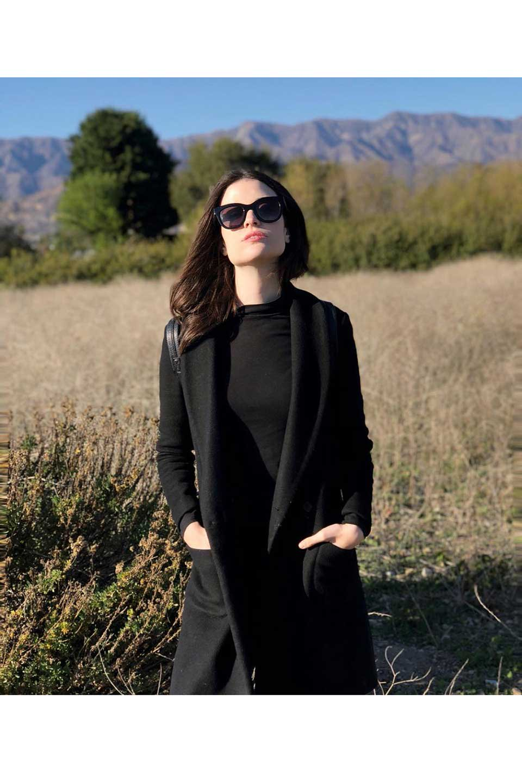 WONDERLANDのCOLONY(02-Tort&Black/BrownLens)コロニー・セルフレーム・サングラス/WONDERLANDのメガネ・サングラスや。アメリカ西海岸のレディースクロージングブランド「STONECOLDFOX」とのコラボレーションモデルです。より女性らしいラウンドしたフレームと特徴的な大きなレンズは、クールな女性を演出してくれると同時に小顔効果が望めます。/main-21