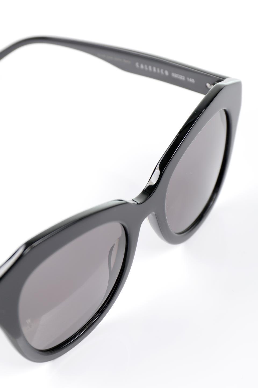 "WONDERLANDのCALEXICO(01-GlossBlack/GrayLens)カレキシコ・セルフレーム・サングラス/WONDERLANDのメガネ・サングラスや。女性向けモデル""CALEXICO(カレキシコ)"