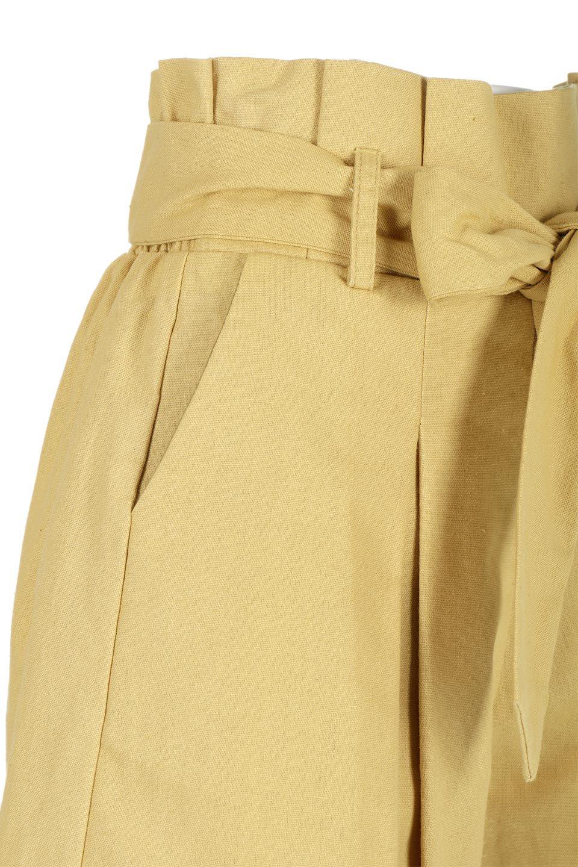 WaistRibbonTuckedShortPantsウエストリボン・タック入りショーツ大人カジュアルに最適な海外ファッションのothers(その他インポートアイテム)のボトムやパンツ。ウエストのリボンがアクセントのタック入りショートパンツ。張りのあるコットン素材なので綺麗なシルエットのままコーデが楽しめます。/main-15
