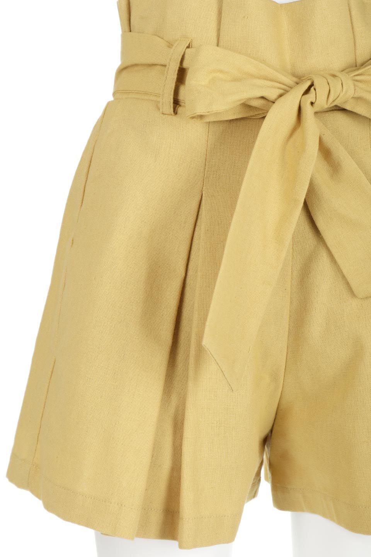 WaistRibbonTuckedShortPantsウエストリボン・タック入りショーツ大人カジュアルに最適な海外ファッションのothers(その他インポートアイテム)のボトムやパンツ。ウエストのリボンがアクセントのタック入りショートパンツ。張りのあるコットン素材なので綺麗なシルエットのままコーデが楽しめます。/main-16