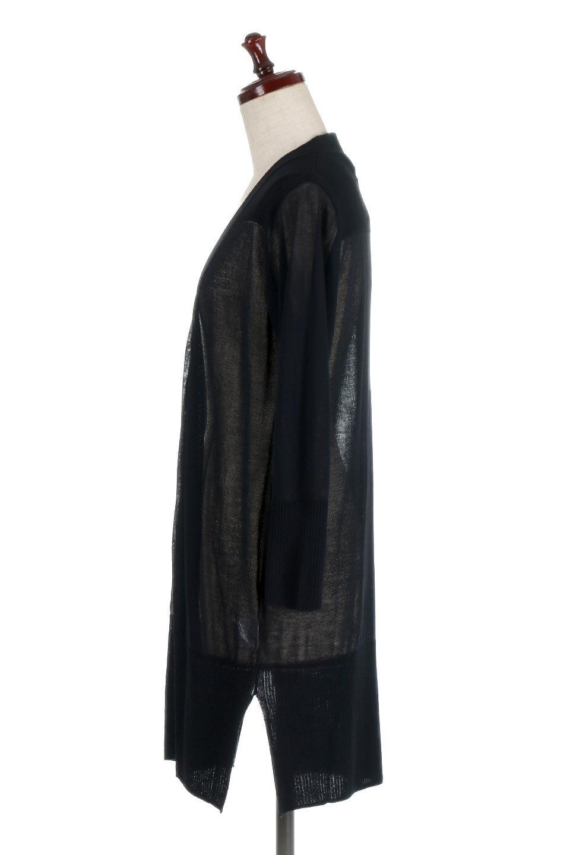 SideSlitMidLengthCardigansサイドスリット・ミディカーディガン大人カジュアルに最適な海外ファッションのothers(その他インポートアイテム)のトップスやニット・セーター。メーカーでは毎年完売の大人気定番アイテムのカーディガン。通気性に優れシャリ感があり、リネンのような素材で、触れると清涼感を感じる接触冷感素材。/main-12