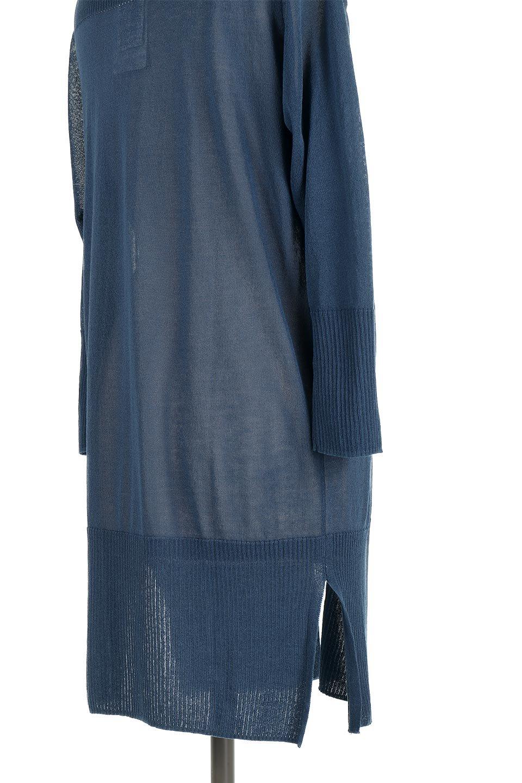 SideSlitMidLengthCardigansサイドスリット・ミディカーディガン大人カジュアルに最適な海外ファッションのothers(その他インポートアイテム)のトップスやニット・セーター。メーカーでは毎年完売の大人気定番アイテムのカーディガン。通気性に優れシャリ感があり、リネンのような素材で、触れると清涼感を感じる接触冷感素材。/main-22