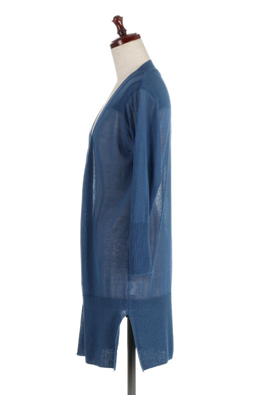 SideSlitMidLengthCardigansサイドスリット・ミディカーディガン大人カジュアルに最適な海外ファッションのothers(その他インポートアイテム)のトップスやニット・セーター。メーカーでは毎年完売の大人気定番アイテムのカーディガン。通気性に優れシャリ感があり、リネンのような素材で、触れると清涼感を感じる接触冷感素材。/main-7