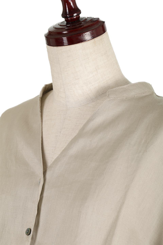 WaistRibbonLongLinenDress美シルエット・リネンワンピース大人カジュアルに最適な海外ファッションのothers(その他インポートアイテム)のワンピースやマキシワンピース。涼し気なリネン(麻)100%のロングワンピース。麻100%生地は吸湿速乾が特徴なので、暑い夏にもさらりと快適に着て頂けます。/main-13