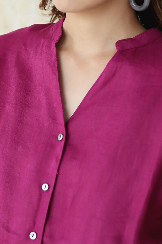WaistRibbonLongLinenDress美シルエット・リネンワンピース大人カジュアルに最適な海外ファッションのothers(その他インポートアイテム)のワンピースやマキシワンピース。涼し気なリネン(麻)100%のロングワンピース。麻100%生地は吸湿速乾が特徴なので、暑い夏にもさらりと快適に着て頂けます。/main-24