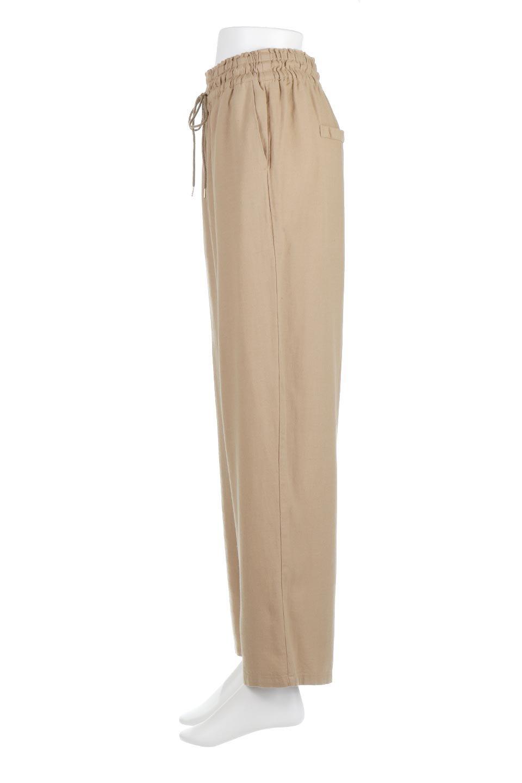 LinenMixWideLegPants麻混・イージーワイドパンツ大人カジュアルに最適な海外ファッションのothers(その他インポートアイテム)のボトムやパンツ。高品質フレンチリネンの素材を使ったリラックスワイドパンツ。麻混素材なので、シンプルなデザインですが、生地に表情があり素材そのものの風合いが楽しめます。/main-7