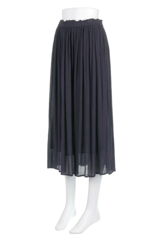 ShinyGatheredMidiSkirtクレープレーヨン・ギャザースカート大人カジュアルに最適な海外ファッションのothers(その他インポートアイテム)のボトムやスカート。レーヨン混で薄くてなめらかな肌触り、微光沢のある生地感のスカート。クレープのような薄い生地がふんわり空気感のあるボリュームを演出します。/main-11