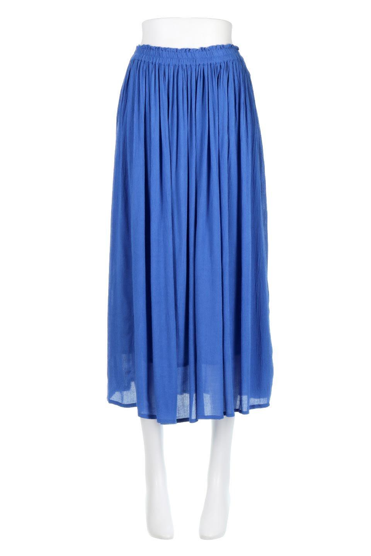 ShinyGatheredMidiSkirtクレープレーヨン・ギャザースカート大人カジュアルに最適な海外ファッションのothers(その他インポートアイテム)のボトムやスカート。レーヨン混で薄くてなめらかな肌触り、微光沢のある生地感のスカート。クレープのような薄い生地がふんわり空気感のあるボリュームを演出します。/main-5