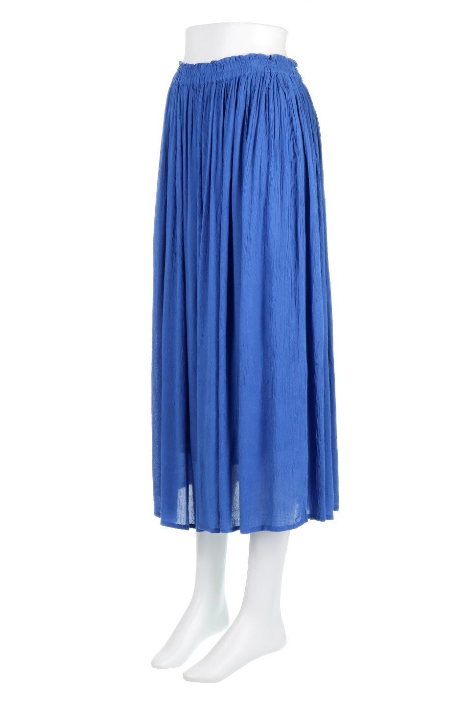 ShinyGatheredMidiSkirtクレープレーヨン・ギャザースカート大人カジュアルに最適な海外ファッションのothers(その他インポートアイテム)のボトムやスカート。レーヨン混で薄くてなめらかな肌触り、微光沢のある生地感のスカート。クレープのような薄い生地がふんわり空気感のあるボリュームを演出します。/main-6