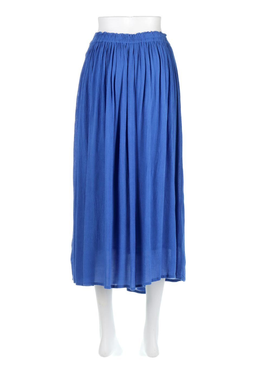 ShinyGatheredMidiSkirtクレープレーヨン・ギャザースカート大人カジュアルに最適な海外ファッションのothers(その他インポートアイテム)のボトムやスカート。レーヨン混で薄くてなめらかな肌触り、微光沢のある生地感のスカート。クレープのような薄い生地がふんわり空気感のあるボリュームを演出します。/main-9
