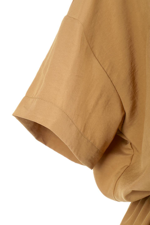 WaistTiedSafariBlouseドロスト付き・サファリブラウス大人カジュアルに最適な海外ファッションのothers(その他インポートアイテム)のトップスやシャツ・ブラウス。人気のサファリテイストをソフトブロード生地で優しい印象に仕上げたブラウス。ウエストのドロストでのブラウジングで様々なコーデが楽しめます。/main-20