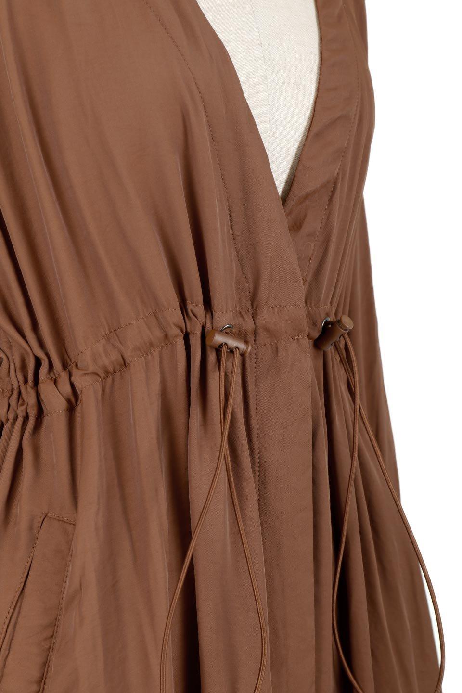 OverSizedGownCoatドロスト付き・ガウンコート大人カジュアルに最適な海外ファッションのothers(その他インポートアイテム)のアウターやカーディガン。大きめシルエットのドロスト付きのガウンコート。1枚仕立てでシャツ感覚で楽しめるガウン。/main-18