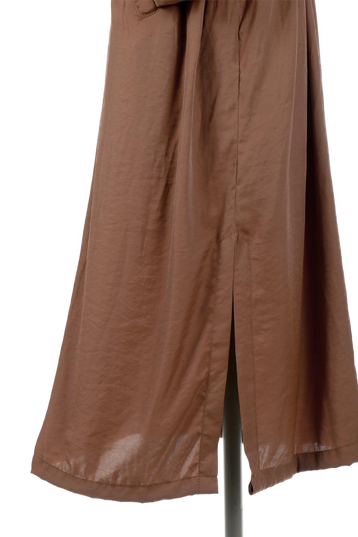 OverSizedGownCoatドロスト付き・ガウンコート大人カジュアルに最適な海外ファッションのothers(その他インポートアイテム)のアウターやカーディガン。大きめシルエットのドロスト付きのガウンコート。1枚仕立てでシャツ感覚で楽しめるガウン。/main-20
