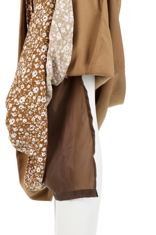 FloralPleatedPanelLongSkirtsプリーツ切り替え・ロングスカート大人カジュアルに最適な海外ファッションのothers(その他インポートアイテム)のボトムやスカート。人気のプリーツ切り替えタイプのロングスカート。チラ見せのプリーツ部分は同色系の小花柄。/main-21