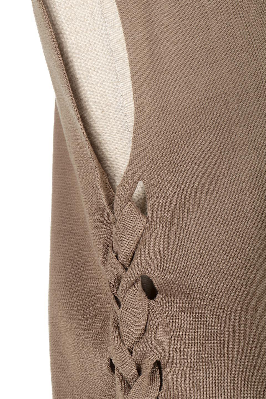 SideLace-UpSleevelessKnitTopサイドレースアップ・ニットトップス大人カジュアルに最適な海外ファッションのothers(その他インポートアイテム)のトップスやニット・セーター。これからの季節にピッタリのニットトップス。ノースリーブ&サイドレースアップで涼し気なアイテムです。/main-19