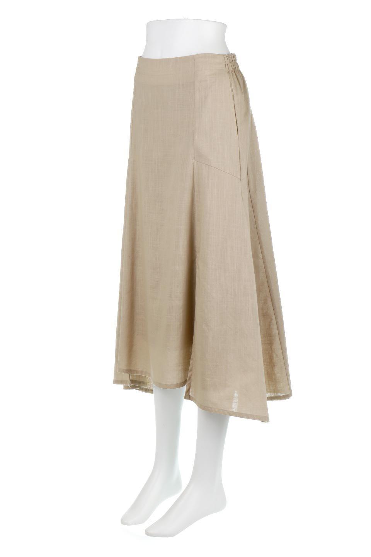 SlubGauzeMermaidSkirtスラブガーゼ・マーメイドスカート大人カジュアルに最適な海外ファッションのothers(その他インポートアイテム)のボトムやスカート。夏に最適なスラブガーゼ素材のスカート。人気のあるカラーバリエーションで、コーデもしやすいシルエット。/main-11
