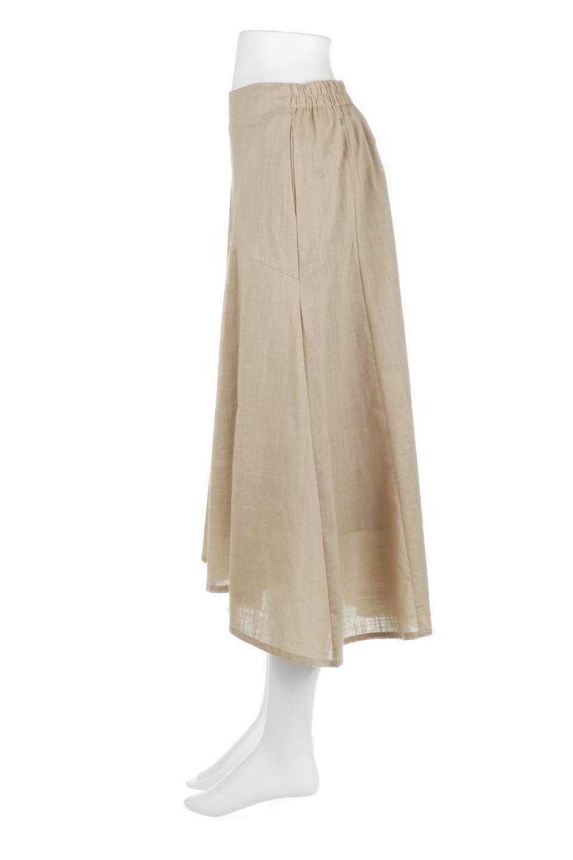 SlubGauzeMermaidSkirtスラブガーゼ・マーメイドスカート大人カジュアルに最適な海外ファッションのothers(その他インポートアイテム)のボトムやスカート。夏に最適なスラブガーゼ素材のスカート。人気のあるカラーバリエーションで、コーデもしやすいシルエット。/main-12