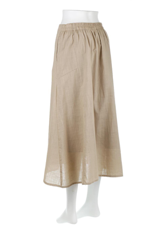 SlubGauzeMermaidSkirtスラブガーゼ・マーメイドスカート大人カジュアルに最適な海外ファッションのothers(その他インポートアイテム)のボトムやスカート。夏に最適なスラブガーゼ素材のスカート。人気のあるカラーバリエーションで、コーデもしやすいシルエット。/main-13