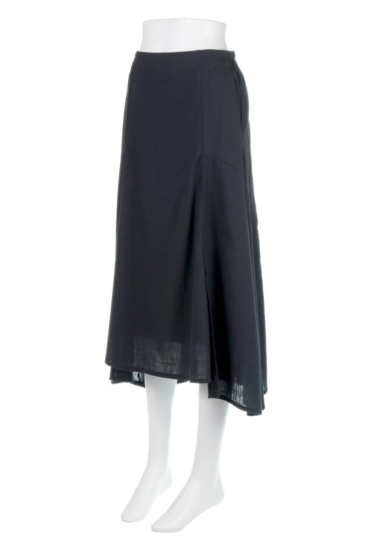 SlubGauzeMermaidSkirtスラブガーゼ・マーメイドスカート大人カジュアルに最適な海外ファッションのothers(その他インポートアイテム)のボトムやスカート。夏に最適なスラブガーゼ素材のスカート。人気のあるカラーバリエーションで、コーデもしやすいシルエット。/main-16