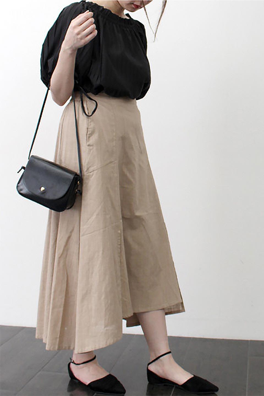 SlubGauzeMermaidSkirtスラブガーゼ・マーメイドスカート大人カジュアルに最適な海外ファッションのothers(その他インポートアイテム)のボトムやスカート。夏に最適なスラブガーゼ素材のスカート。人気のあるカラーバリエーションで、コーデもしやすいシルエット。/main-28