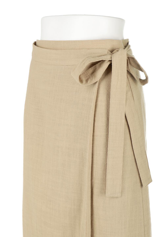 SlubGauzeWrapAroundSkirtスラブガーゼ・ラップスカート大人カジュアルに最適な海外ファッションのothers(その他インポートアイテム)のボトムやスカート。涼し気なスラブガーゼ素材のロング丈ラップスカート。厚い日でも快適に楽しめるマキシ丈のスカートです。/main-10