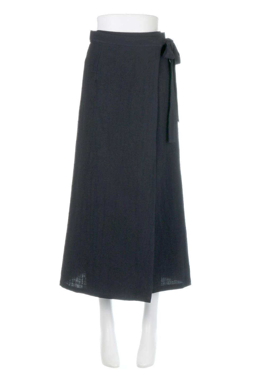 SlubGauzeWrapAroundSkirtスラブガーゼ・ラップスカート大人カジュアルに最適な海外ファッションのothers(その他インポートアイテム)のボトムやスカート。涼し気なスラブガーゼ素材のロング丈ラップスカート。厚い日でも快適に楽しめるマキシ丈のスカートです。/main-5