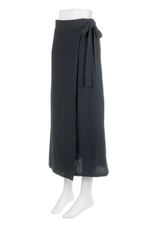 SlubGauzeWrapAroundSkirtスラブガーゼ・ラップスカート大人カジュアルに最適な海外ファッションのothers(その他インポートアイテム)のボトムやスカート。涼し気なスラブガーゼ素材のロング丈ラップスカート。厚い日でも快適に楽しめるマキシ丈のスカートです。/main-6