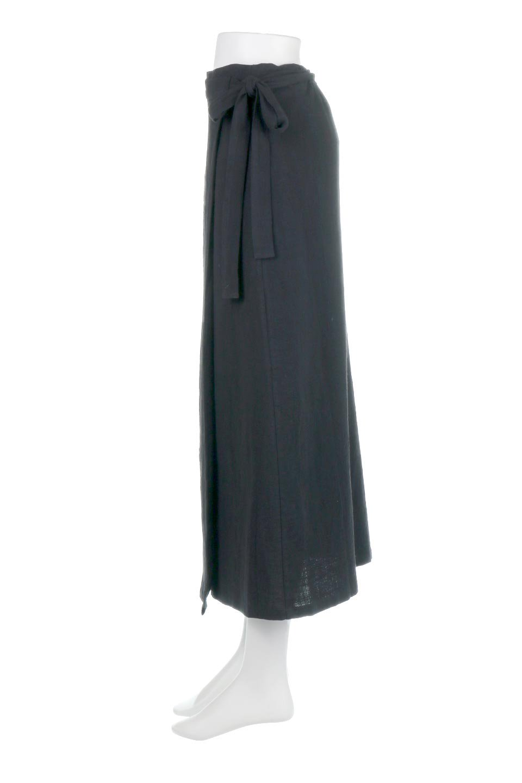SlubGauzeWrapAroundSkirtスラブガーゼ・ラップスカート大人カジュアルに最適な海外ファッションのothers(その他インポートアイテム)のボトムやスカート。涼し気なスラブガーゼ素材のロング丈ラップスカート。厚い日でも快適に楽しめるマキシ丈のスカートです。/main-7