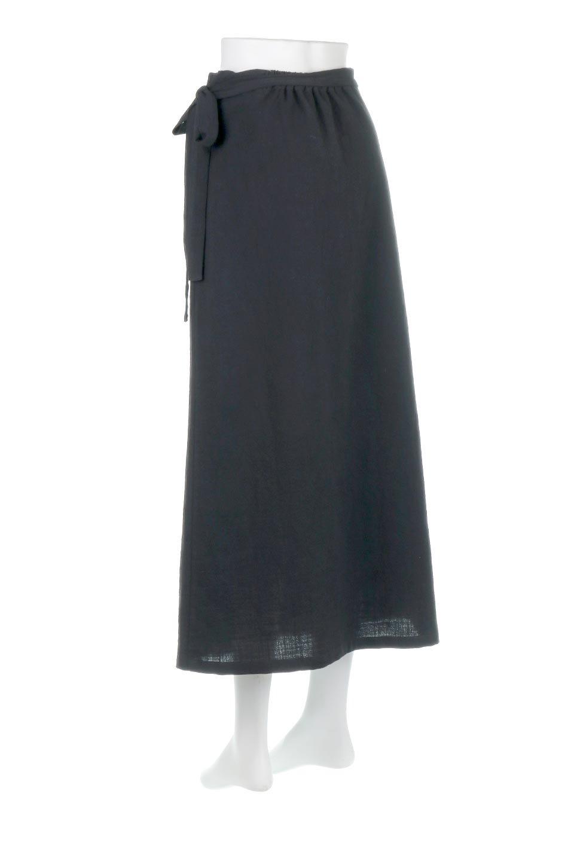 SlubGauzeWrapAroundSkirtスラブガーゼ・ラップスカート大人カジュアルに最適な海外ファッションのothers(その他インポートアイテム)のボトムやスカート。涼し気なスラブガーゼ素材のロング丈ラップスカート。厚い日でも快適に楽しめるマキシ丈のスカートです。/main-8
