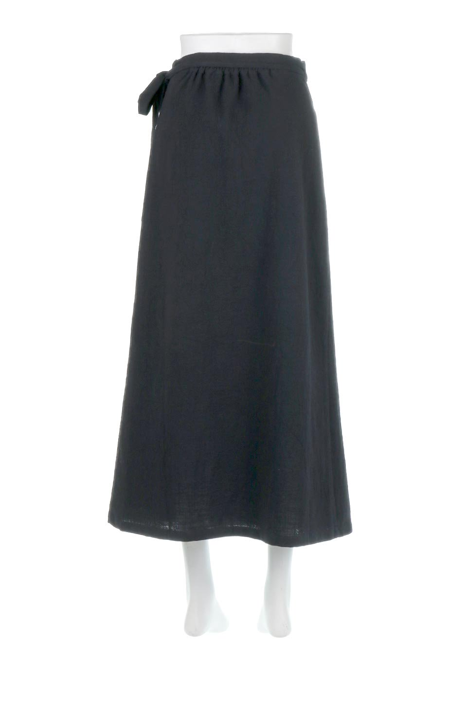 SlubGauzeWrapAroundSkirtスラブガーゼ・ラップスカート大人カジュアルに最適な海外ファッションのothers(その他インポートアイテム)のボトムやスカート。涼し気なスラブガーゼ素材のロング丈ラップスカート。厚い日でも快適に楽しめるマキシ丈のスカートです。/main-9