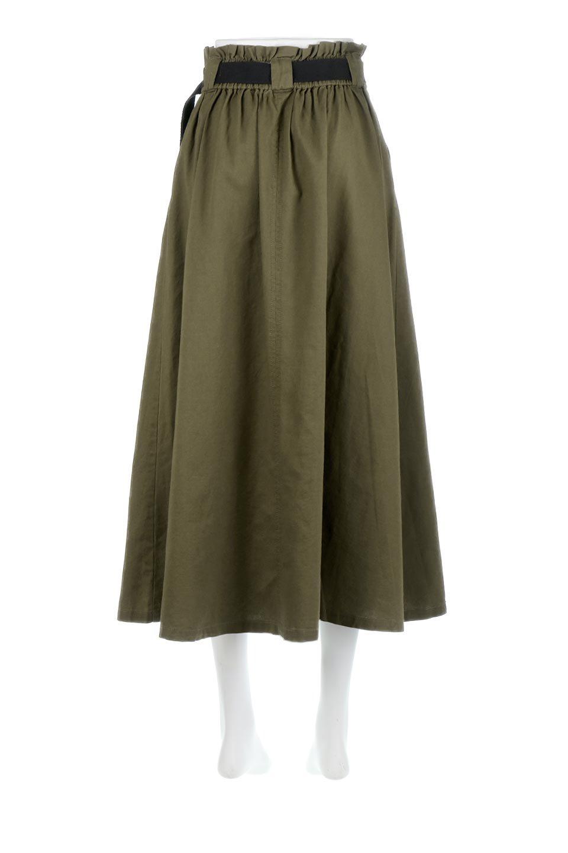 PaneledFlareSkirtw/WeavingBeltベルト付き・パネルフレアスカート大人カジュアルに最適な海外ファッションのothers(その他インポートアイテム)のボトムやスカート。フロントの切り替えがアクセントのボリューム感のあるフレアスカート。付属したウェービングベルトでラフでカジュアルな雰囲気です。/main-14