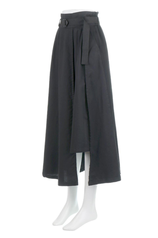 PaneledFlareSkirtw/WeavingBeltベルト付き・パネルフレアスカート大人カジュアルに最適な海外ファッションのothers(その他インポートアイテム)のボトムやスカート。フロントの切り替えがアクセントのボリューム感のあるフレアスカート。付属したウェービングベルトでラフでカジュアルな雰囲気です。/main-16