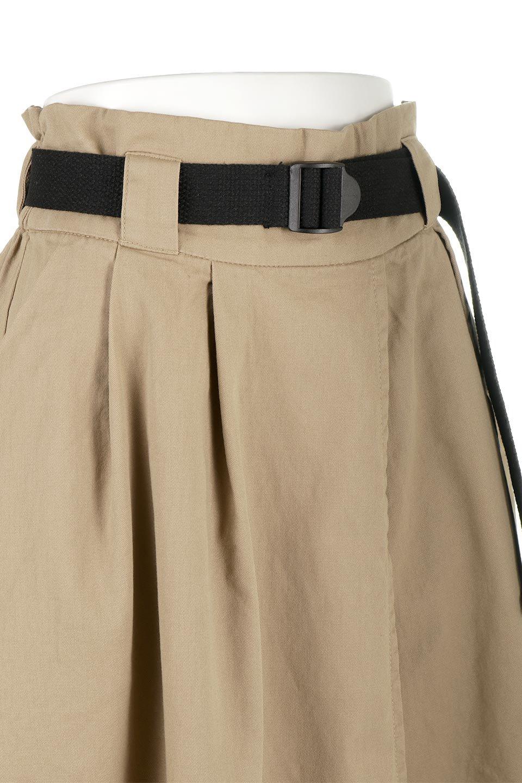 PaneledFlareSkirtw/WeavingBeltベルト付き・パネルフレアスカート大人カジュアルに最適な海外ファッションのothers(その他インポートアイテム)のボトムやスカート。フロントの切り替えがアクセントのボリューム感のあるフレアスカート。付属したウェービングベルトでラフでカジュアルな雰囲気です。/main-20