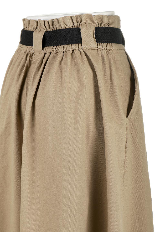 PaneledFlareSkirtw/WeavingBeltベルト付き・パネルフレアスカート大人カジュアルに最適な海外ファッションのothers(その他インポートアイテム)のボトムやスカート。フロントの切り替えがアクセントのボリューム感のあるフレアスカート。付属したウェービングベルトでラフでカジュアルな雰囲気です。/main-21