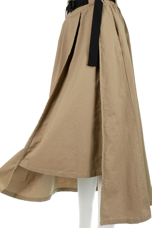 PaneledFlareSkirtw/WeavingBeltベルト付き・パネルフレアスカート大人カジュアルに最適な海外ファッションのothers(その他インポートアイテム)のボトムやスカート。フロントの切り替えがアクセントのボリューム感のあるフレアスカート。付属したウェービングベルトでラフでカジュアルな雰囲気です。/main-23