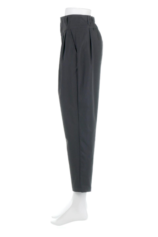 PegtopHighWaistPantペグトップ・ハイウエストパンツ大人カジュアルに最適な海外ファッションのothers(その他インポートアイテム)のボトムやパンツ。ワイドでシャープなペグトップシルエットのパンツ。腰から膝下まではゆとりをもたせたワイドシルエット。/main-12
