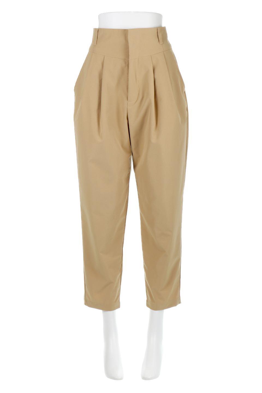PegtopHighWaistPantペグトップ・ハイウエストパンツ大人カジュアルに最適な海外ファッションのothers(その他インポートアイテム)のボトムやパンツ。ワイドでシャープなペグトップシルエットのパンツ。腰から膝下まではゆとりをもたせたワイドシルエット。/main-5