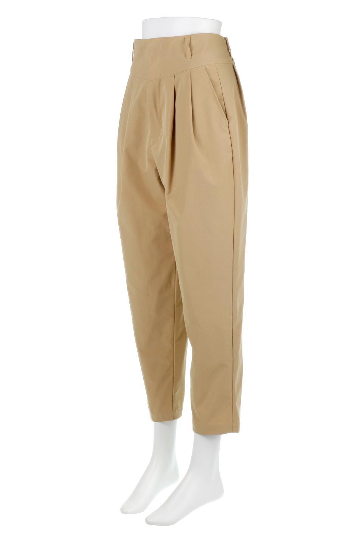 PegtopHighWaistPantペグトップ・ハイウエストパンツ大人カジュアルに最適な海外ファッションのothers(その他インポートアイテム)のボトムやパンツ。ワイドでシャープなペグトップシルエットのパンツ。腰から膝下まではゆとりをもたせたワイドシルエット。/main-6