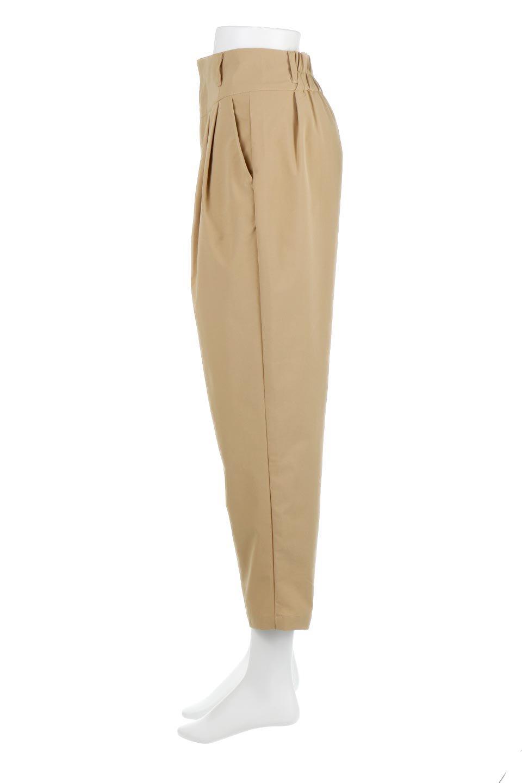 PegtopHighWaistPantペグトップ・ハイウエストパンツ大人カジュアルに最適な海外ファッションのothers(その他インポートアイテム)のボトムやパンツ。ワイドでシャープなペグトップシルエットのパンツ。腰から膝下まではゆとりをもたせたワイドシルエット。/main-7