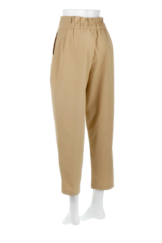 PegtopHighWaistPantペグトップ・ハイウエストパンツ大人カジュアルに最適な海外ファッションのothers(その他インポートアイテム)のボトムやパンツ。ワイドでシャープなペグトップシルエットのパンツ。腰から膝下まではゆとりをもたせたワイドシルエット。/main-8